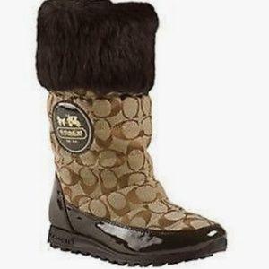 Coach Joyous Winter Boots